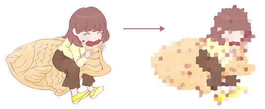 ピクセレート水晶